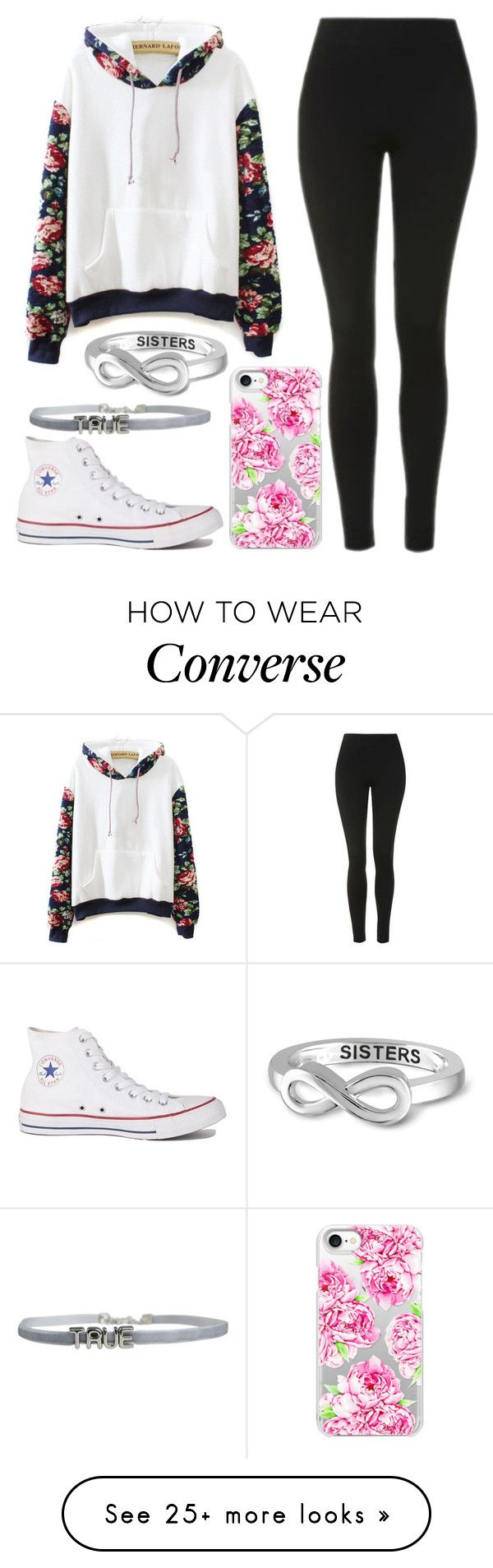 """Injury- Lala Slater"" by misshemmings96 on Polyvore featuring Topshop, WithChic, Casetify, Jewelonfire and Converse"