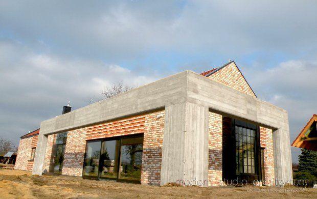 Zdjęcie numer 6 w galerii - Realizacje domów: nowoczesny dom stodoła z porozbiórkowej cegły
