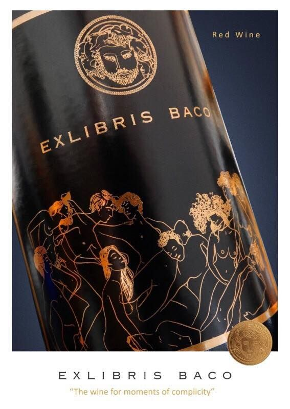 EXLIBRIS BACO  Classic Red Wine