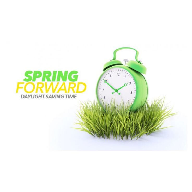 """Daylight Saving Time is Upon Us!   Daylight saving time 2015 will begin on Sunday, March 8 at 2:00 a.m. That means it's time to spring forward!  The catchy phrase """"spring ahead"""" signals change. It's a reminder to move clocks ahead one hour for daylight savings time.  Take a few minutes to test the batteries in their smoke alarms and carbon monoxide alarms and make sure they work and replace batteries as needed.  #DaylightSavingTime"""