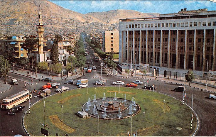 Syria - Damascus - Place of 29 May, Syrie - Damas