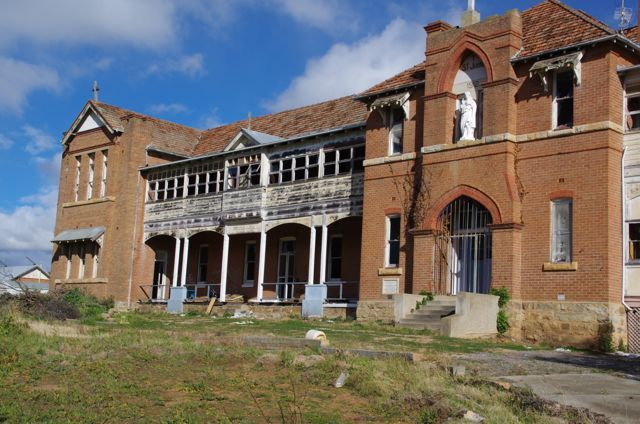 St Johns Orphanage: In Goulburn, New South Wales is suspected to have some ghosts in the building. St Johns Orphanage (also known as the Goulburn Boys Orphanage) was an orphanage located in Goulburn, a town of New South Wales, Australia. It housed only males, with a capacity of approximately 100 children from the ages of 5 to 16. The Goulburn Boys Orphanage was opened in 1912 and closed in 1975.
