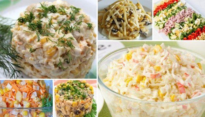 8 skvělých nápadů na chutné saláty s kukuřicí | NejRecept.cz