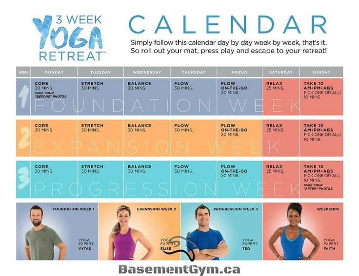 3 Week Yoga Retreat exclusif à Beachbody On Demand