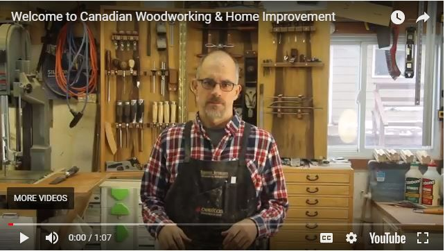 In this video Rob Brown introduces you to Canadian Woodworking & Home Improvement, Canada's #1 Resource for woodworkers and DIY homeowners. Subscribe to our FREE newsletter: http://eepurl.com/GjnET and visit our website: https://www.canadianwoodworking.com