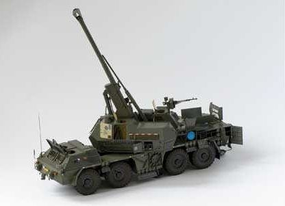 152 mm ShKH MODAN vz.77/99 Wheeled Self-Propelled Artillery Free Paper Model…