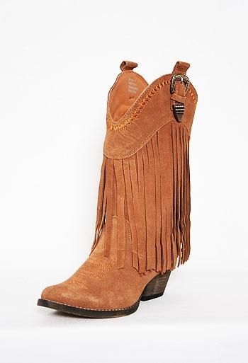 Fringe Cowboy Boot
