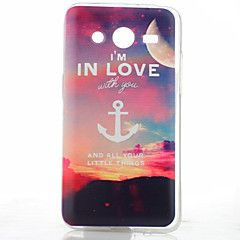 moon anker patroon TPU soft Cover Case voor Samsung Galaxy k... – EUR € 3.99