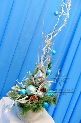 Рождественский декор в оформлении на новый год