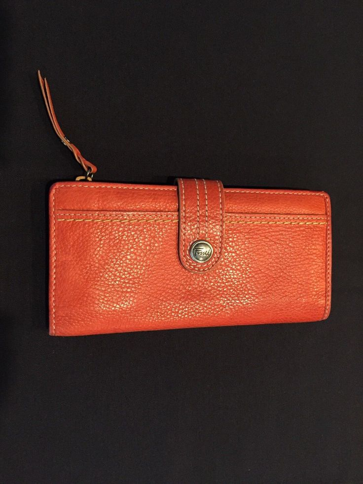Fossil Women's Wallet Leather Good Used Condition | eBay