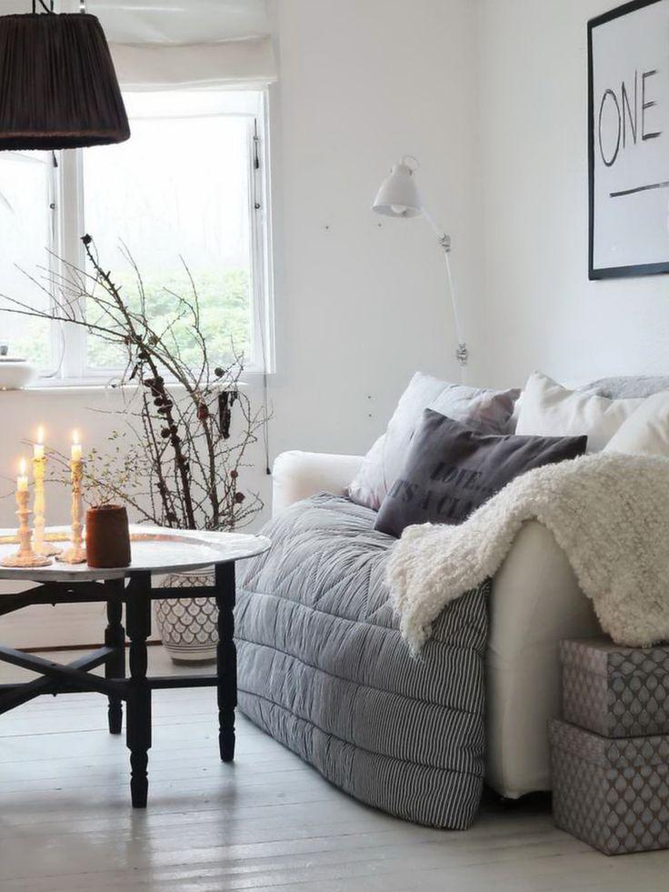 kuhles wohnzimmer hangematte am bild der affbfcebfbee cozy room scandinavian christmas