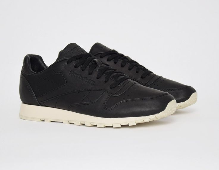 #Reebok Classic Leather Lux Horween Black #sneakers