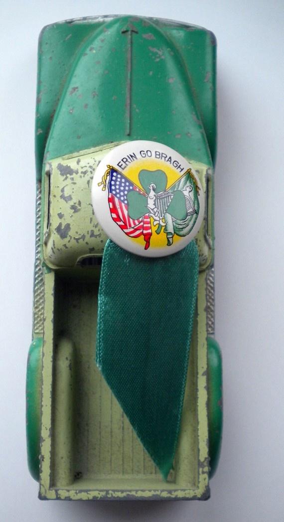 Erin Go Braugh Vintage St Patricks Day Pin by by FleaMarketGal, $4.50