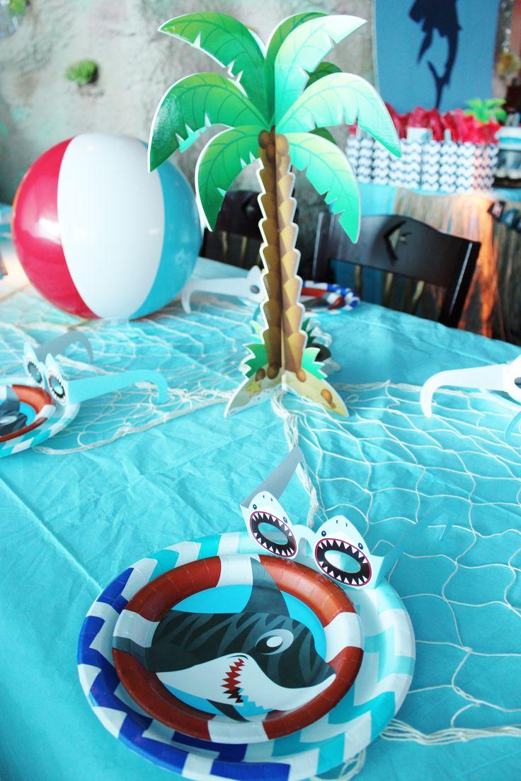 Shark Party Shark Party Ideas Shark Party Theme Ideas