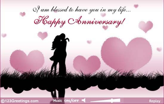 Happy Anniversary My Love My Only One My Lovely Beloved