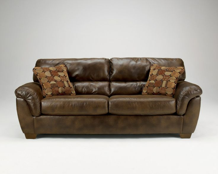 Ashley Furniture Sofas   Bought Two Of These Manual Reclining Leather Sofas  Today For The Family