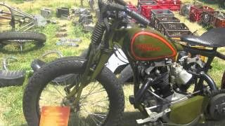 Wauseon Ohio vintage motorcycle event July 2011