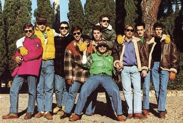 Moda anni 80: paninari