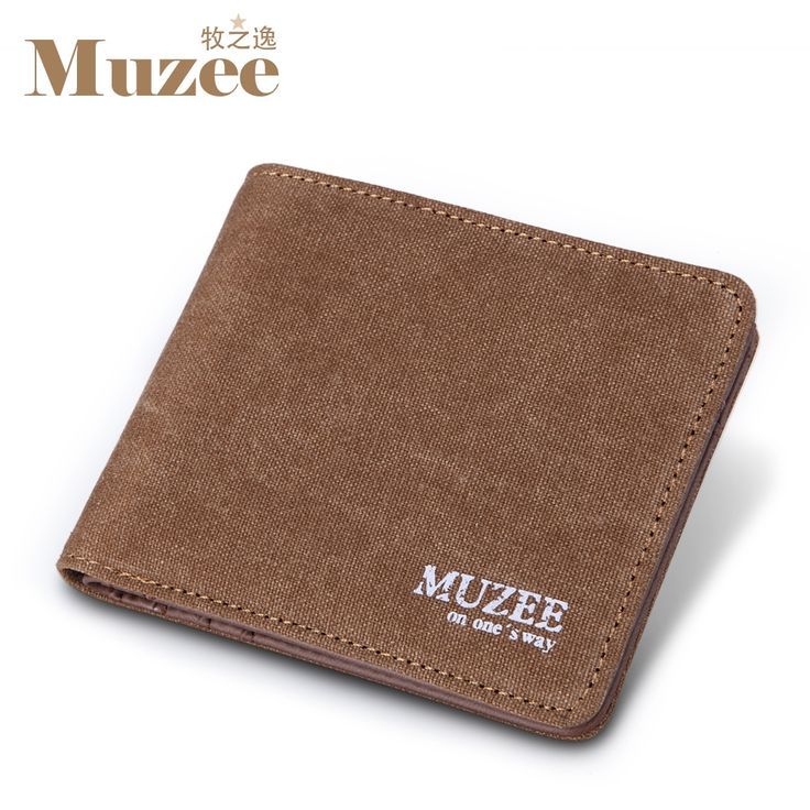 9.60$  Buy now - http://ali4ic.shopchina.info/go.php?t=32224102018 - 2017 Muzee Canvas Mens Wallets Top Quality Wallet Card Holder Multi Pockets Credit Cards Purse Male Simple Design Brand Purse  #buychinaproducts