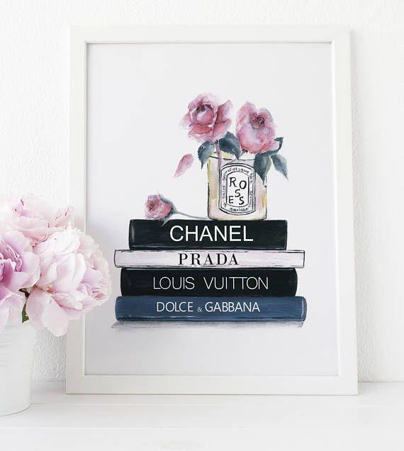 b5cd9200415 Coco Chanel Prints Chanel Wall Art Prada Art Prints Louis
