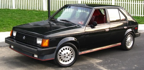 1985 dodge omni glh turbo america 39 s first real foray into the hot hatch market 146hp in a. Black Bedroom Furniture Sets. Home Design Ideas