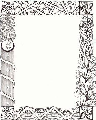 The NEW Ramblings of a Creative Mind: Zentangle workshop for Calligraphers