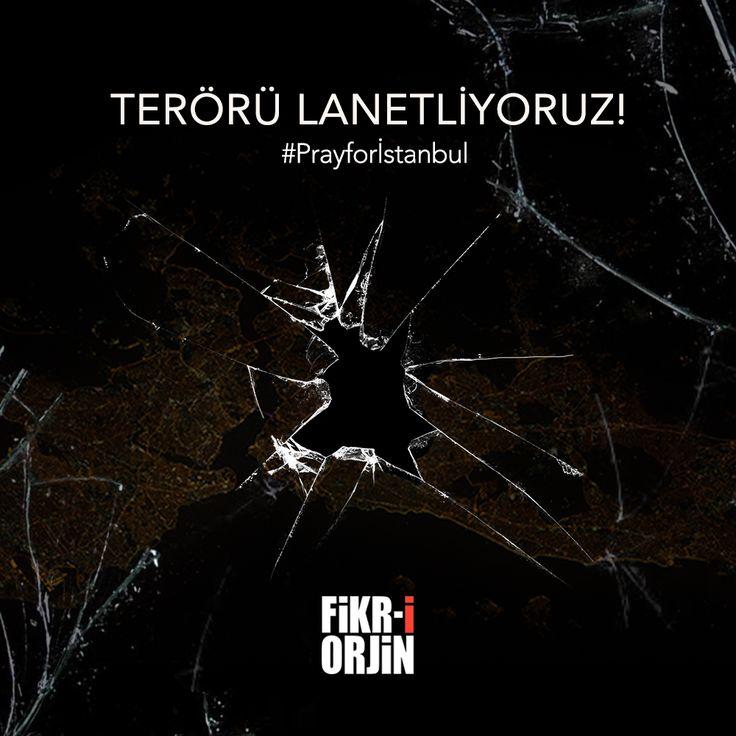 Terörün Her Türlüsünü Lanetliyoruz!  #stopterorism #Prayforİstanbul #Ataturkairport