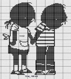 Jip en Janneke cross stitch