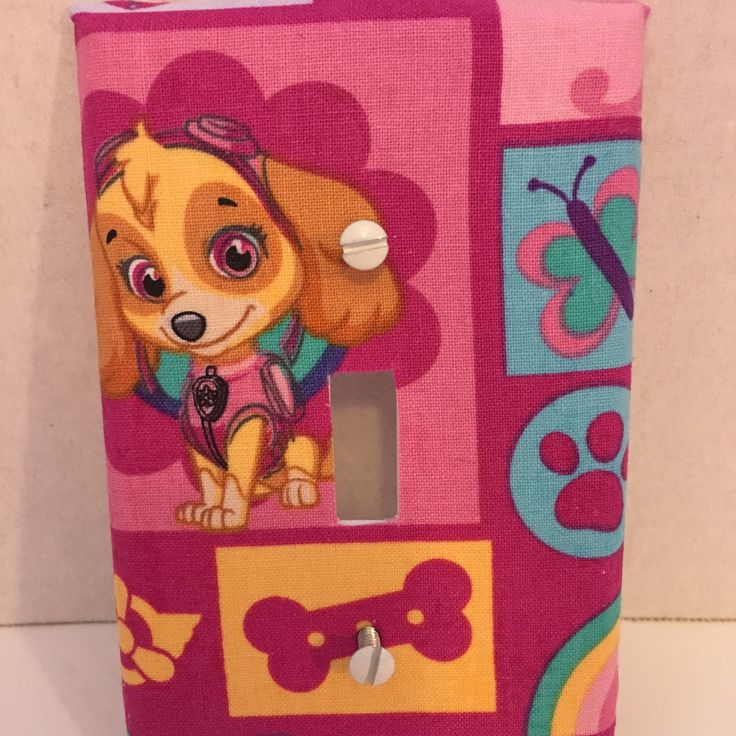 Paw Patrol Skye and Everest, so cute, for girls room.