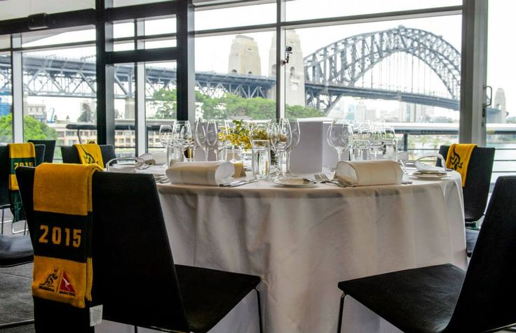 Taylors Wine partnership launch with the Wallabies at Quay