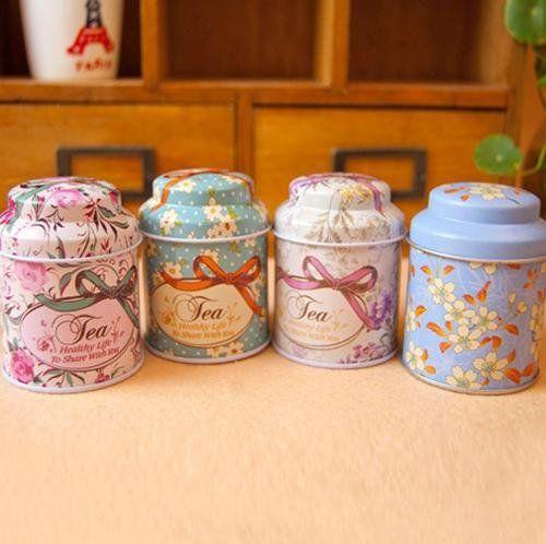 4style Bright flowers design Tin Tea Box Mini Coffee box/ cute Storage box/ Storage Case 4pc/lot+Freeshipping - http://mygourmetgifts.com/4style-bright-flowers-design-tin-tea-box-mini-coffee-box-cute-storage-box-storage-case-4pclotfreeshipping/