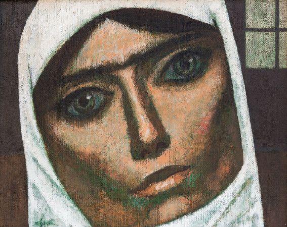 Anadolu Kadını Portreleriyle Tanınan Nuri İyem'in 16 Eseri