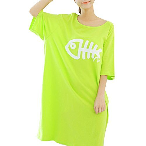 Teamo Women's Plus Size Sleepwear Loose Soft Sleepshirt Short Sleeve (XXL) Te Amo http://www.amazon.com/dp/B00W5HHPPE/ref=cm_sw_r_pi_dp_WZAhwb0H0BNS6