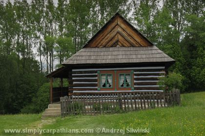Open-air musem in northern Slovakia is a huge complex of wooden houses.  www.simplycarpathians.com