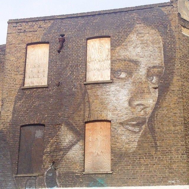 Teresa Oman by #Rone Leonard St #shoreditch #graffiti #streetart #artthursday #instagram