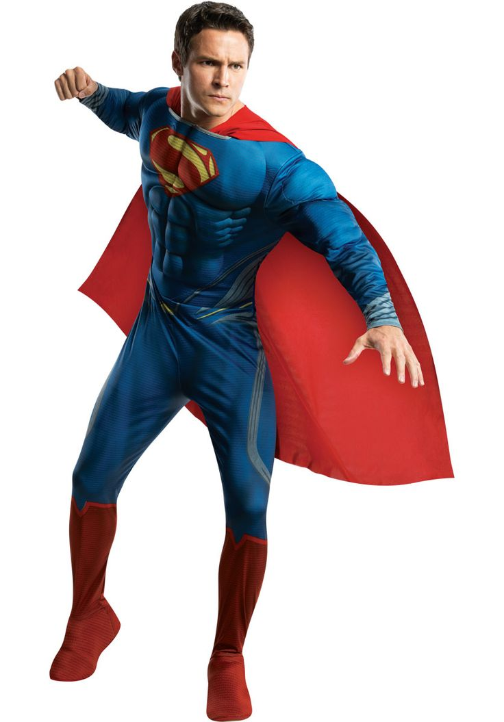 Superman Deluxe Costume - Man of Steel