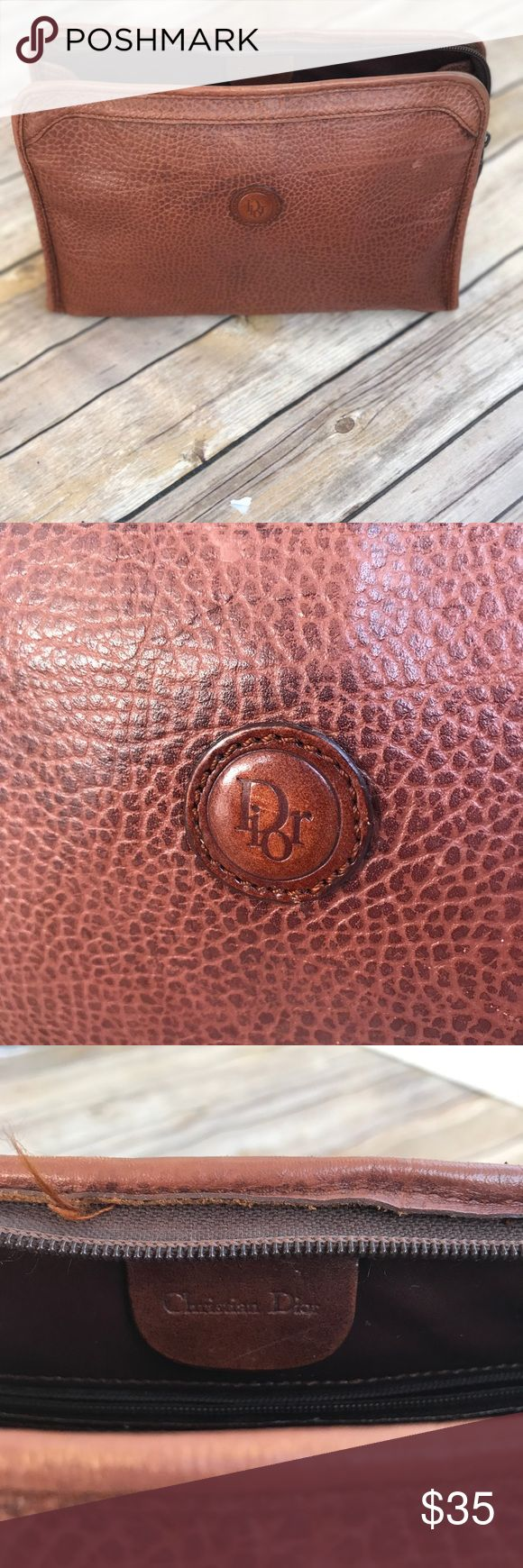 Vintage Christian Dior Cosmetic Bag (With images) Dior