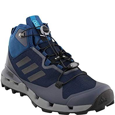 new styles 13571 8519d adidas outdoor Terrex Fast GTX-Surround Mid Hiking Boot – Mens Blue  NightBlackGrey Three, 11.0 Review