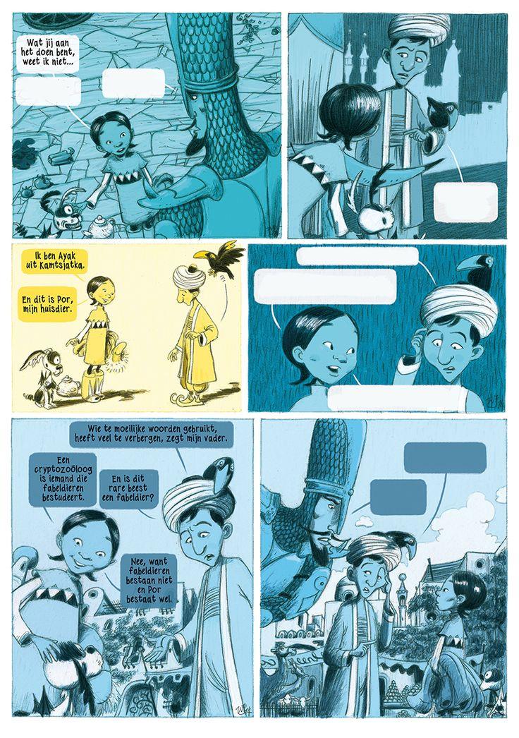 comic Ayak + Por page by Wilbert van der Steen, see wvds.net