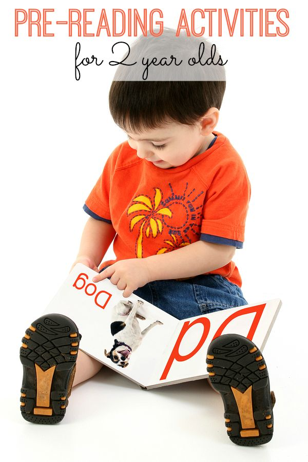 2 year olds aren't expected to read yet. But you and your 2 year old will LOVE these 10 pre-reading activities! Simple and fun activities to do with your toddler today!