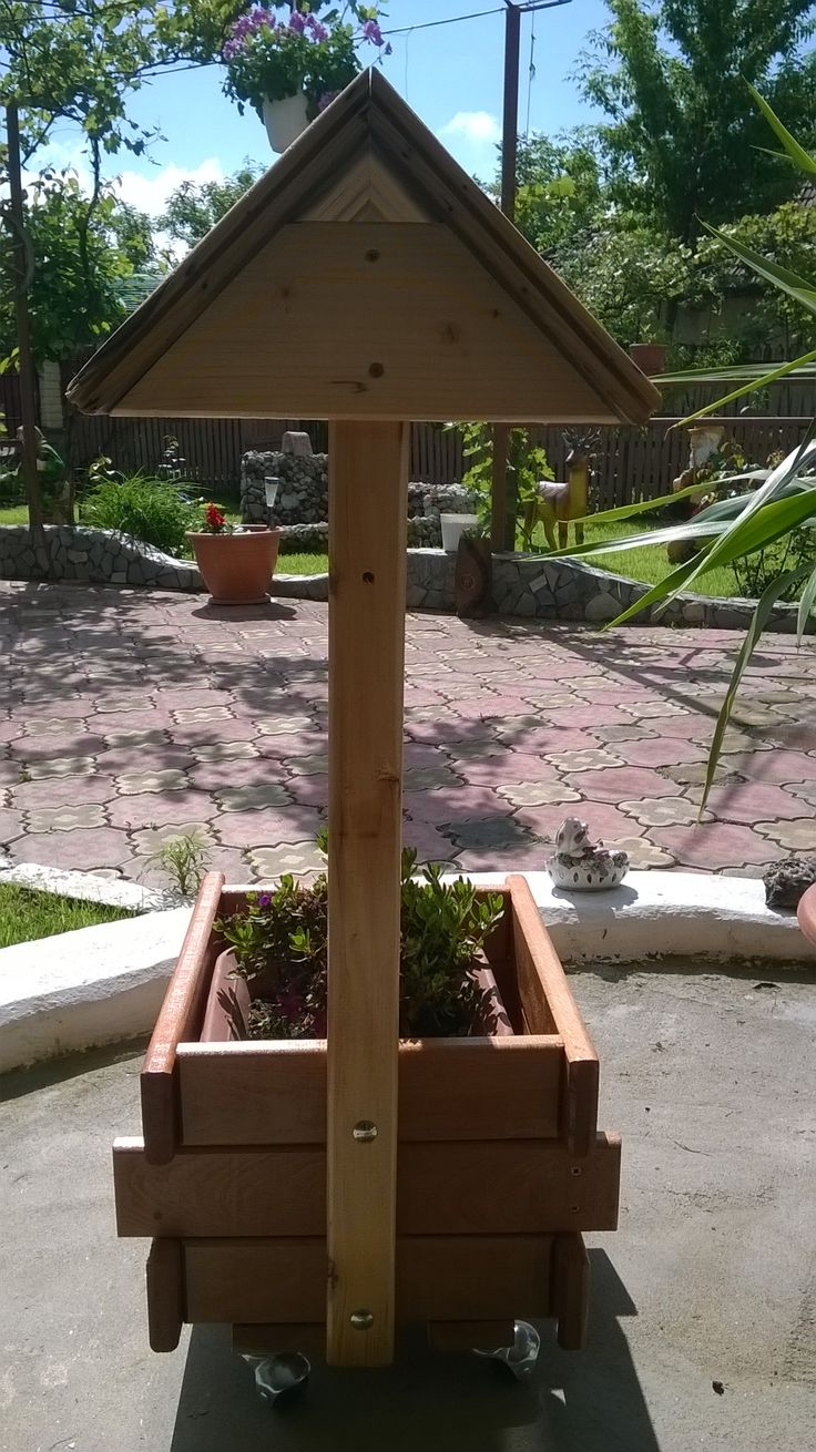 Support backyard planter shaped fountain3