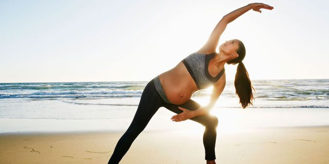 The best yoga poses to do during pregnancy   - Netdoctor.co.uk
