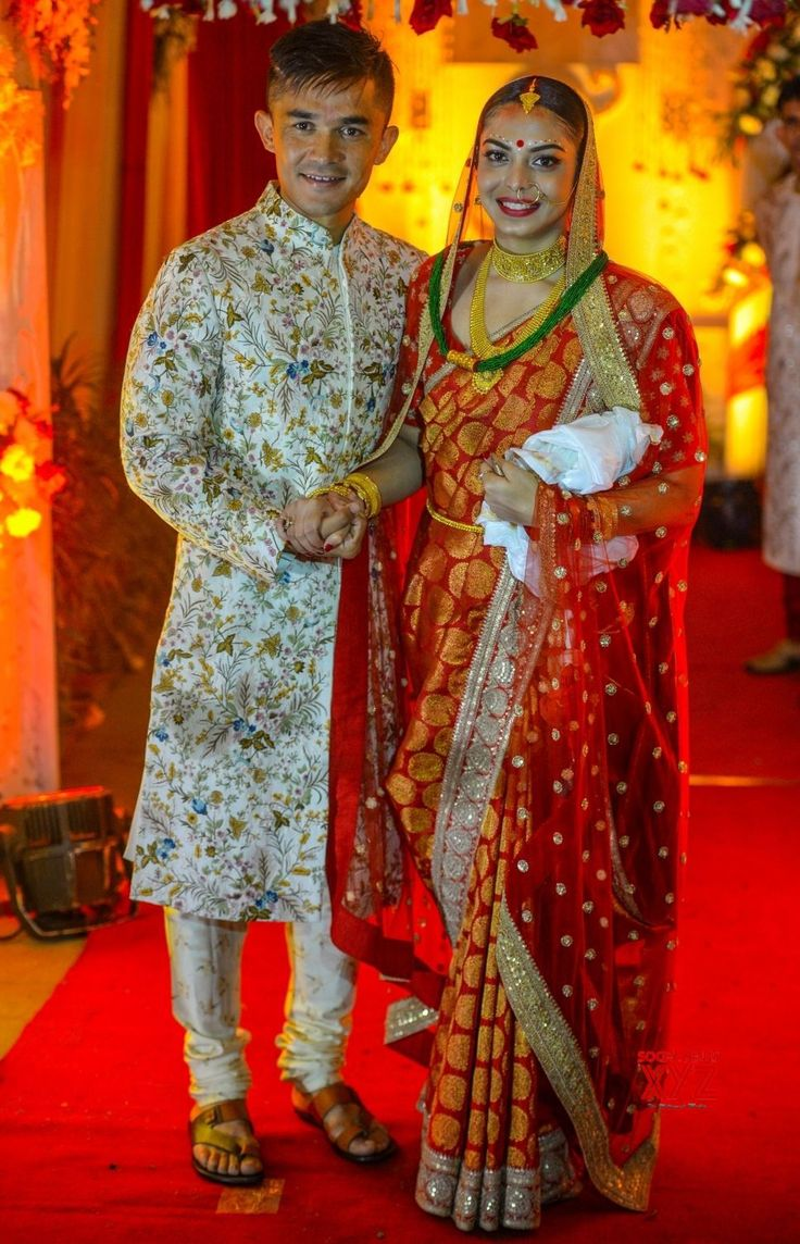 Kolkata: Sunil Chhetri's wedding ceremony - Social News XYZ