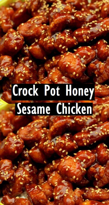 Crock Pot Honey Sesame Chicken – Easy Recipes
