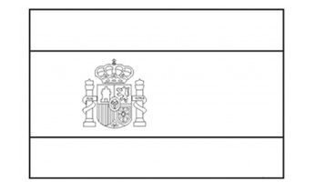 Print the kids this Spanish flag to colour in and help them with a school project. Collect these free printable colouring pages of the flags of the world.