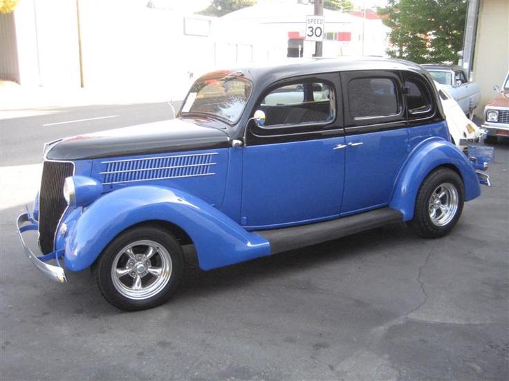 1936 Ford Four Door Slant Back S