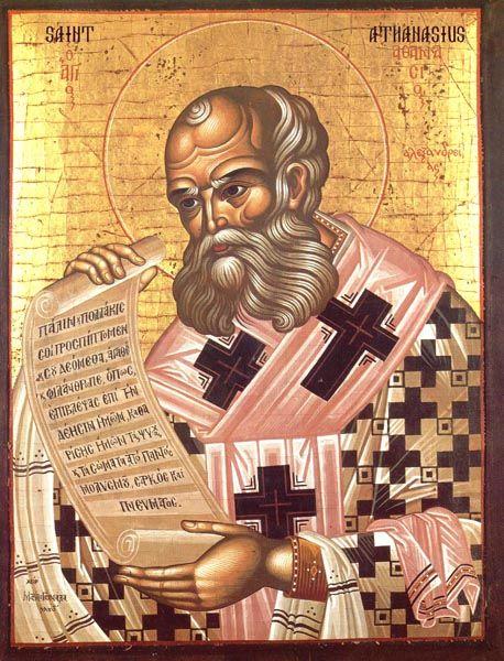 IcCSSAnthan2 - St. Athanasius Orthodox Icon Cross Stitch Pattern