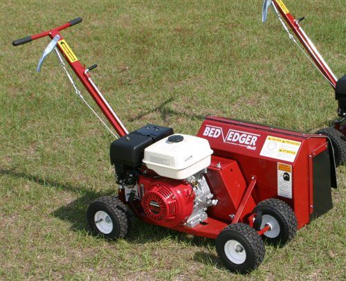 Brown Bed Edger – An Indespensible Addition to Your Yard Maintenance Tools | Shank's Lawn Blog