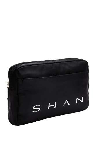 SHAN - Collection 2015 - Bag - www.shan.ca -  #Shan #NewCollection #Bag #Accessoires  Nylon SHAN pouch 26 cm x 17 cm / 10 1/4'' x 6 3/4''