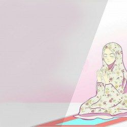 Dp Bbm Kartun Muslim Berdoa